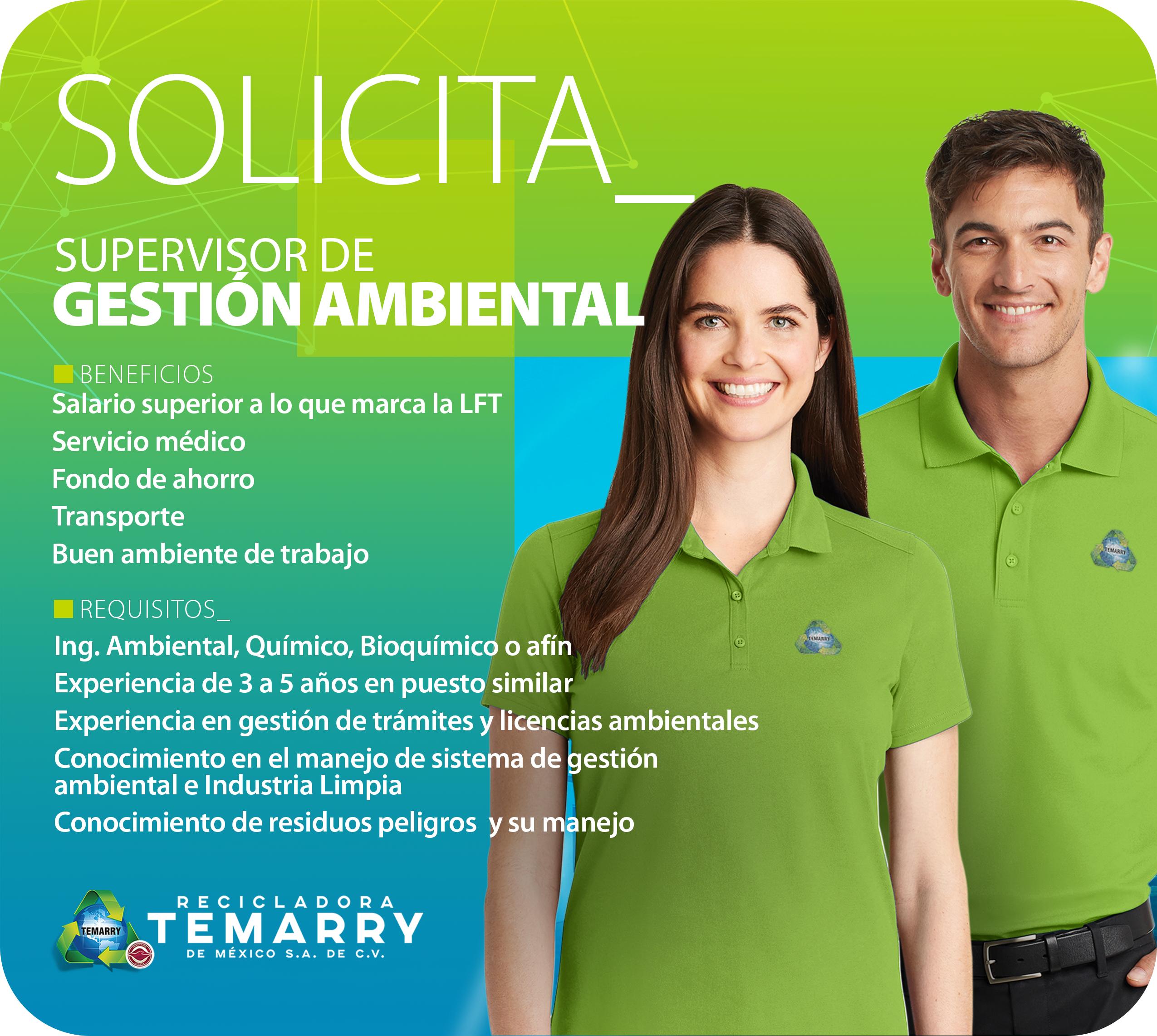 Supervisor Gestion Ambiental